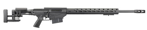 "Ruger Repetierer, Precision Rifle, .300 Win Mag, Type III Hard Coat Anodized, 26"", 5-rd, MT5/8""-24"