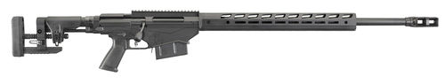 "Ruger Repetierer, Precision Rifle, .300 PRC, Type III Black Hard-Coat Anodized, 26"", 5-rd, MT5/8""-24"