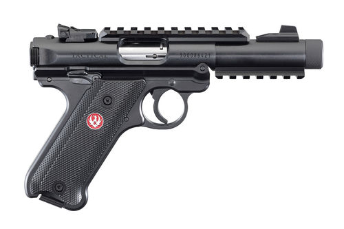 Ruger Pistole, Mark IV Tactical, .22 LR, Black Oxide, 4.40""